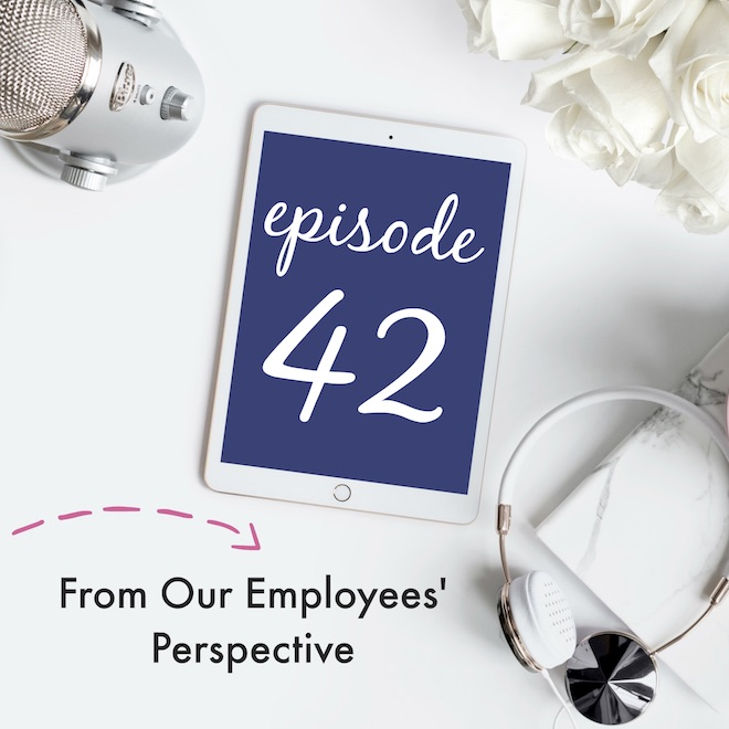Episode 42: From Our Employees' Perspective | Creative Business Breakdown Podcast